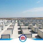 2 Ayda 10.000 Kişilik Konteyner Kamp