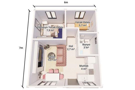 PAKET EV 42 m²
